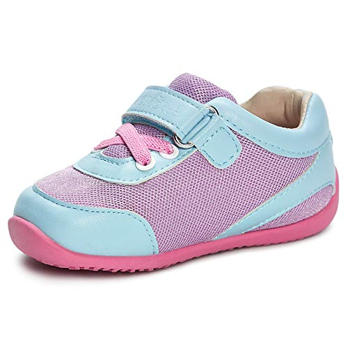 Momo Baby Girls First Walker Toddler Leah Sneaker Shoes