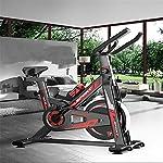MxZas-Indoor-Cycling-Bicicletta-stazionaria-della-Bici-del-Ciclo-Comodo-Cuscino-di-Seduta-Spin-Bike-Color-Black-Size-102x48x102cm