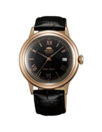Orient ER24008B Men's Bambino Black Dial Leather Strap Automatic Watch