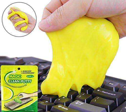 cenblue Magic compuesto Super Clean Gel Masilla – limpia para teclado teléfono escritorio portátil ordenador Cyber polvo Crumbs (3pcs)