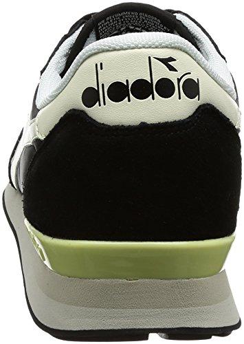 Diadora Camaro, Sneaker Uomo Nero (Nero/Bianco Sospiro)