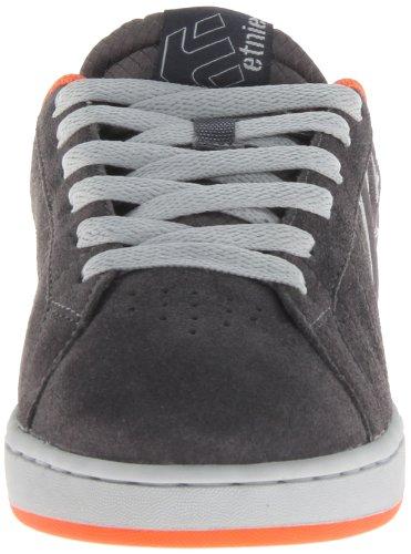 Etnies Fader Ls - Zapatillas de skateboarding Gris / Naranja (Grey/Orange)