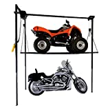 mobile hoist - Garage Storage Lift 1100 lb 4' x 8' Platform for Motorcycle ATV Snowmobile