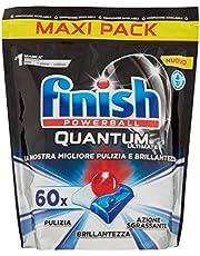 Finish, Quantum Ultimate, 60 vaatwassertabs, 1 verpakking met 60 tabs, regular - 750 g