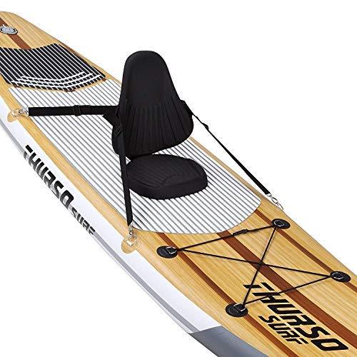 THURSO SURF SURF Asiento de tabla de paddle SUP Asiento de kayak Asiento de espuma PE Cómodo y relajante: Amazon.es: Deportes y aire libre