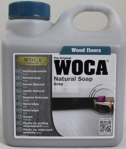 Woca Natural Soap Grey 2.5 Liter