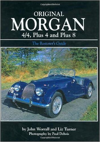 MORGAN 4//4 OWNERS MANUAL BOOK HANDBOOK