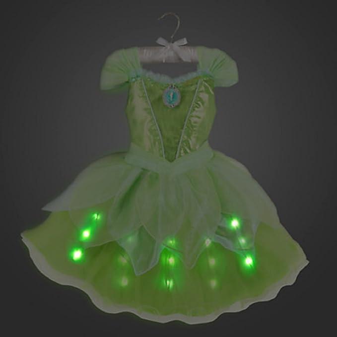 Amazon.com: Disney Store Tinker Bell Tinkerbell Light-up Costume ...