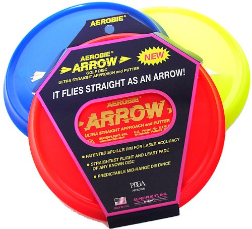 Aerobie Arrow Golf Disc Single