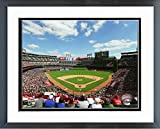 "Globe Life Park Texas Rangers MLB Stadium Photo (Size: 12.5"" x 15.5"") Framed"