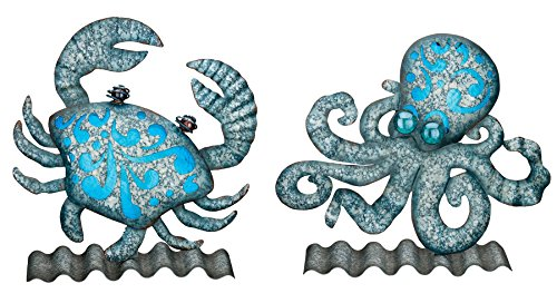 Regal Art & Gift Table or Wall Decor - Crab & Octopus by Regal Art & Gift