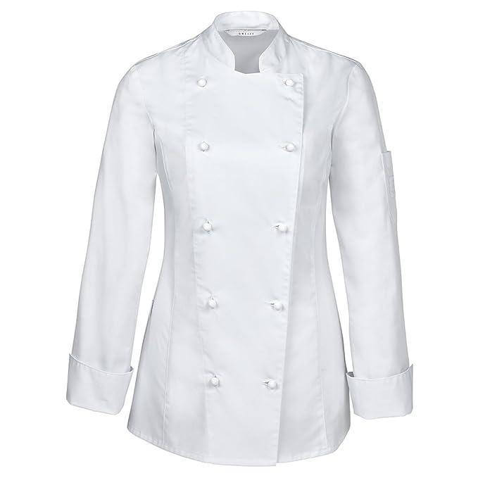 GREIFF - Giacca da Chef - Donna  Amazon.it  Abbigliamento ebf1eb0e1768