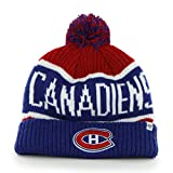 NHL Montreal Canadiens Calgary Cuff Knit Hat, One Size, Red