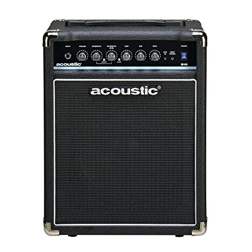 Acoustic B15 15W Bass Combo Amp Black (15w Bass Amp)