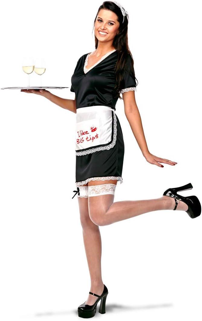Folat 21936 Sexy Camarera Disfraz de los años 60 para Mujer ...
