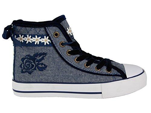 Krüger Sneaker 4156 in vers. Farben Blau