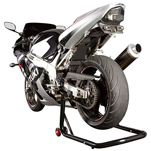 Black Widow BW-12-V2 Black Rear Motorcycle Stand Lift Pad Kit by Black Widow (Image #1)