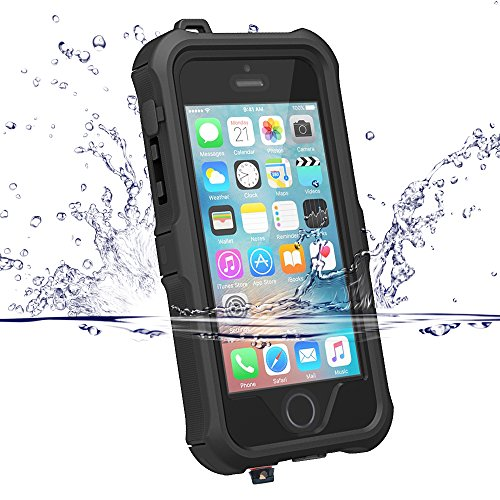ZVE Waterproof Shockproof Protective SE Black