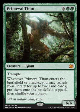 English MTG Commander 2014 1x Grave Titan NM