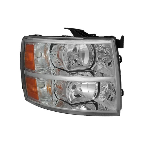 for Chevy Silverado Crystal Headlights Right ()
