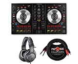 Pioneer DDJ-SB2 + Headphones + Dual Cable