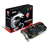 MSI AMD Radeon R9 270X Gaming 2GB GDDR5 2DVI/HDMI/DisplayPort PCI-Express Video Card