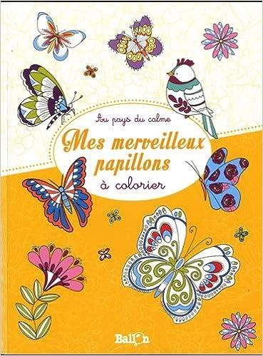Amazon Com Mes Jolis Papillons A Colorier Au Pays Du Calme