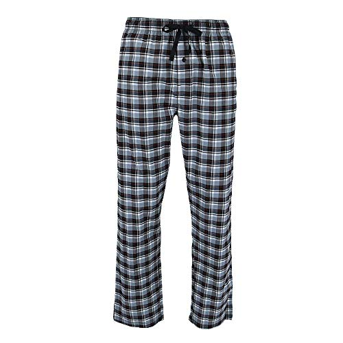 Hanes Men's Woven Sleep Pants with Pockets, Medium, ()