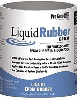 Liquid Rubber EPDM, 1 Gallon, White