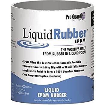 Amazon Com Liquid Rubber White Liquid Epdm Roof Coating 5