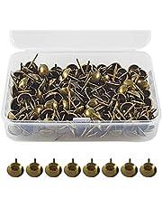 ✮LEVENSLANGE GARANTIE✮-CZ Store®- Stofferingsnagel|150 PCS|- bekledingsnagel 17X11 MM- bronzen bekledingsnagel voor fauteuil/meubel/bed- decoratieve vintage nagel