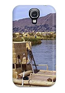 Durable Defender Case For Galaxy S4 Tpu Cover(titicaca Lake )