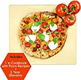 Crustina Rectangular Pizza Stone, 14 x 16-Inch