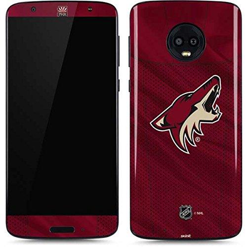 - Skinit NHL Arizona Coyotes Moto G6 Skin - Phoenix Coyotes Home Jersey Design - Ultra Thin, Lightweight Vinyl Decal Protection