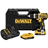 DEWALT DCD795D2 20V XR Lithium Ion Brushless Compact Hammer Drill Kit