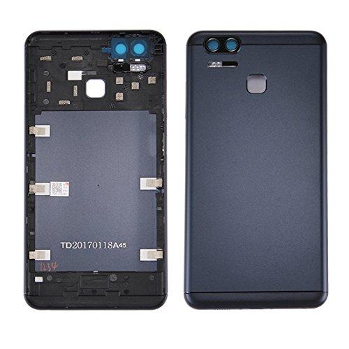 ZHANGTAI Sparts Parts Back Battery Cover for Asus ZenFone 3 Zoom / ZE553KL (Navy Black) Repair Flex Cable (Color : Color1)