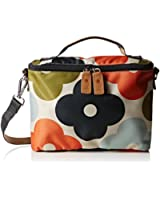 Orla Kiely Giant Flower Spot Print Mini Box Convertible Shoulder Bag