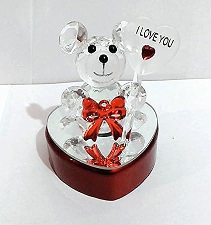 Valentines Day At Trader Rose >> Gayatri Trader Valentine Gift Lighting Stunning Crystal Teddy