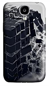 coolest Samsung S4 case Abstract 3D Wall 3D cover custom Samsung S4