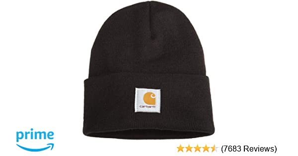 37882e8620e Carhartt Men s Acrylic Watch Hat A18