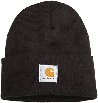 Carhartt Men's Acrylic Watch Hat A18, Black, One Size