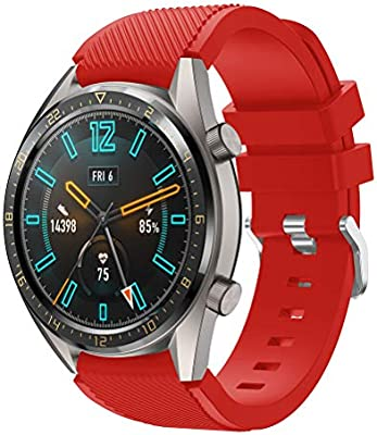 TMCCB Correa para Huawei Watch GT Pulsera Banda-Silicona Reloj de Recambio Brazalete Correas para Huawei Watch GT