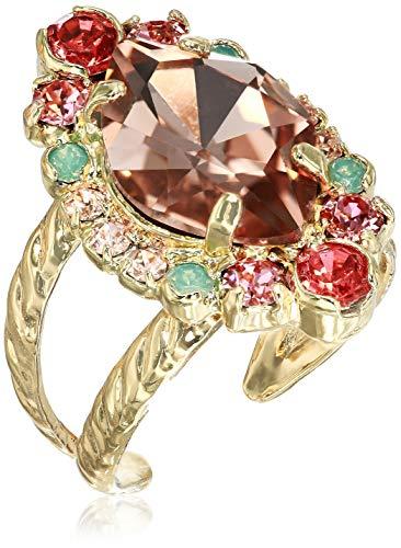- Sorrelli Mango Tango Women's Eustoma Ring, Bright Multi, 1