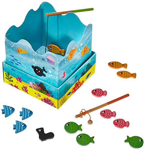 Goula – Mis primeros juegos: juego de la pesca (Diset 53412)