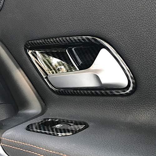 ABS cromato Car Center Bracciolo Box Interruttore Pulsante Telaio Adesivo Trim Cover Paillettes Per Benz Classe A W177 2019 2020