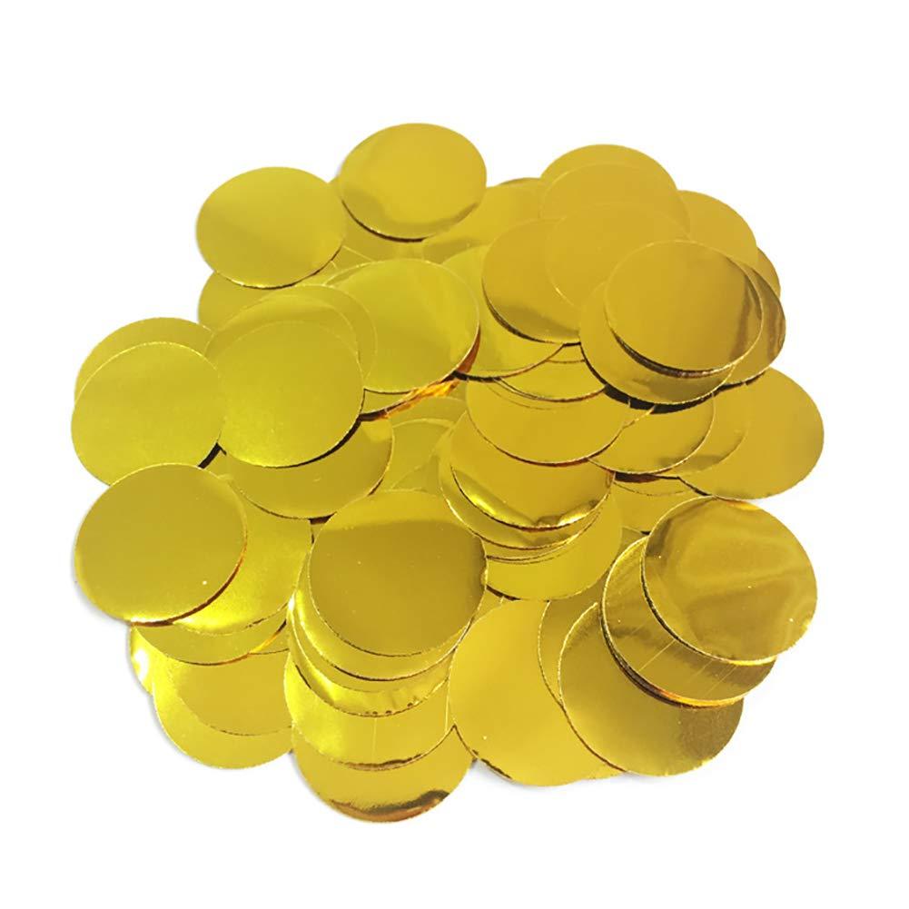 2.5cm Silver Dots Confetti 30g