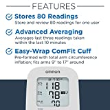 Omron Silver Blood Pressure Monitor, Upper Arm