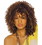 Short Cool Afro-curly Hairstyle Women Wig Synthetic Wig