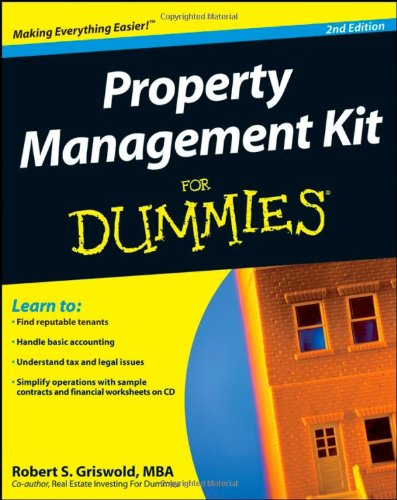 Property Management Kit For Dummies (Book & CD) ebook