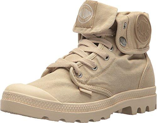 - Palladium Women's Baggy Canvas Boots, Sahara/Ecru, 11 B(M) US
